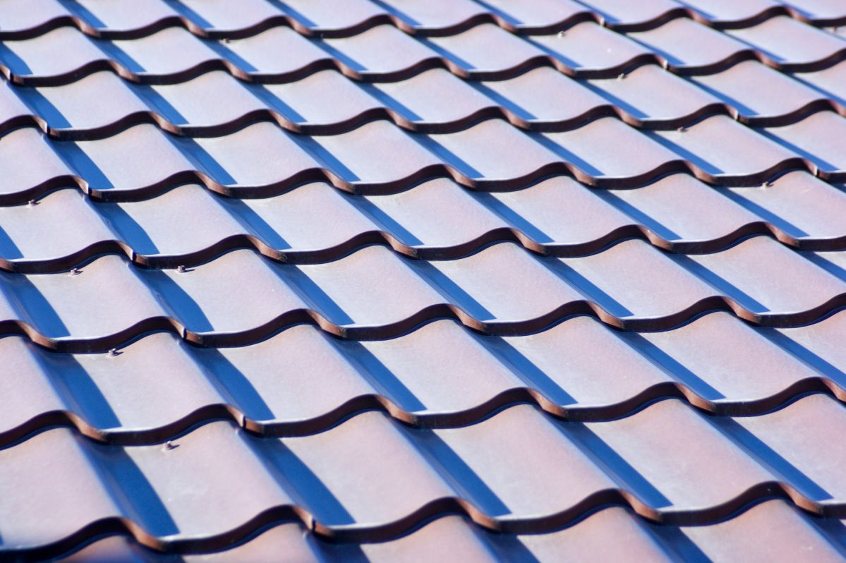 An interesting tiled roof