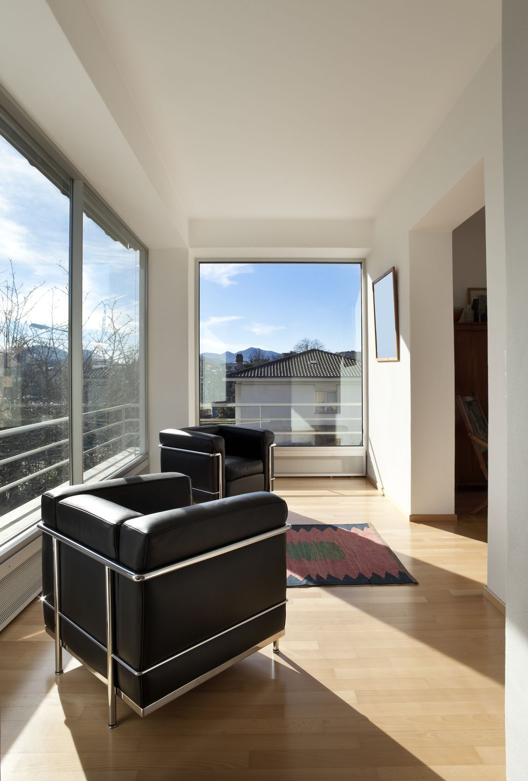 Lots of natural light with panoramic windows