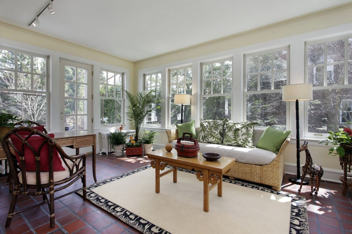 Charming sunroom