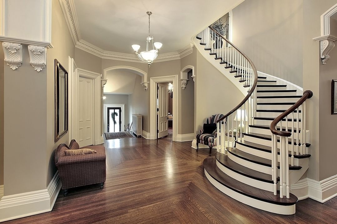 Genial Eggshell Interior Painting And Elegant Trim Work