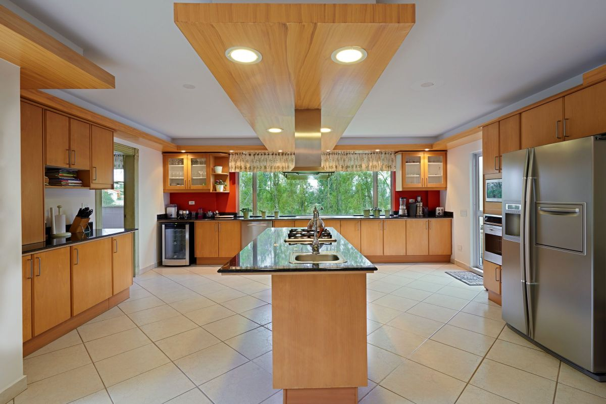 Beautiful Wooden Kitchen Island