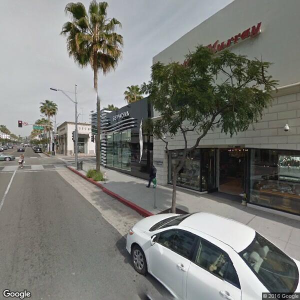 Beverly Hills Glass Windows