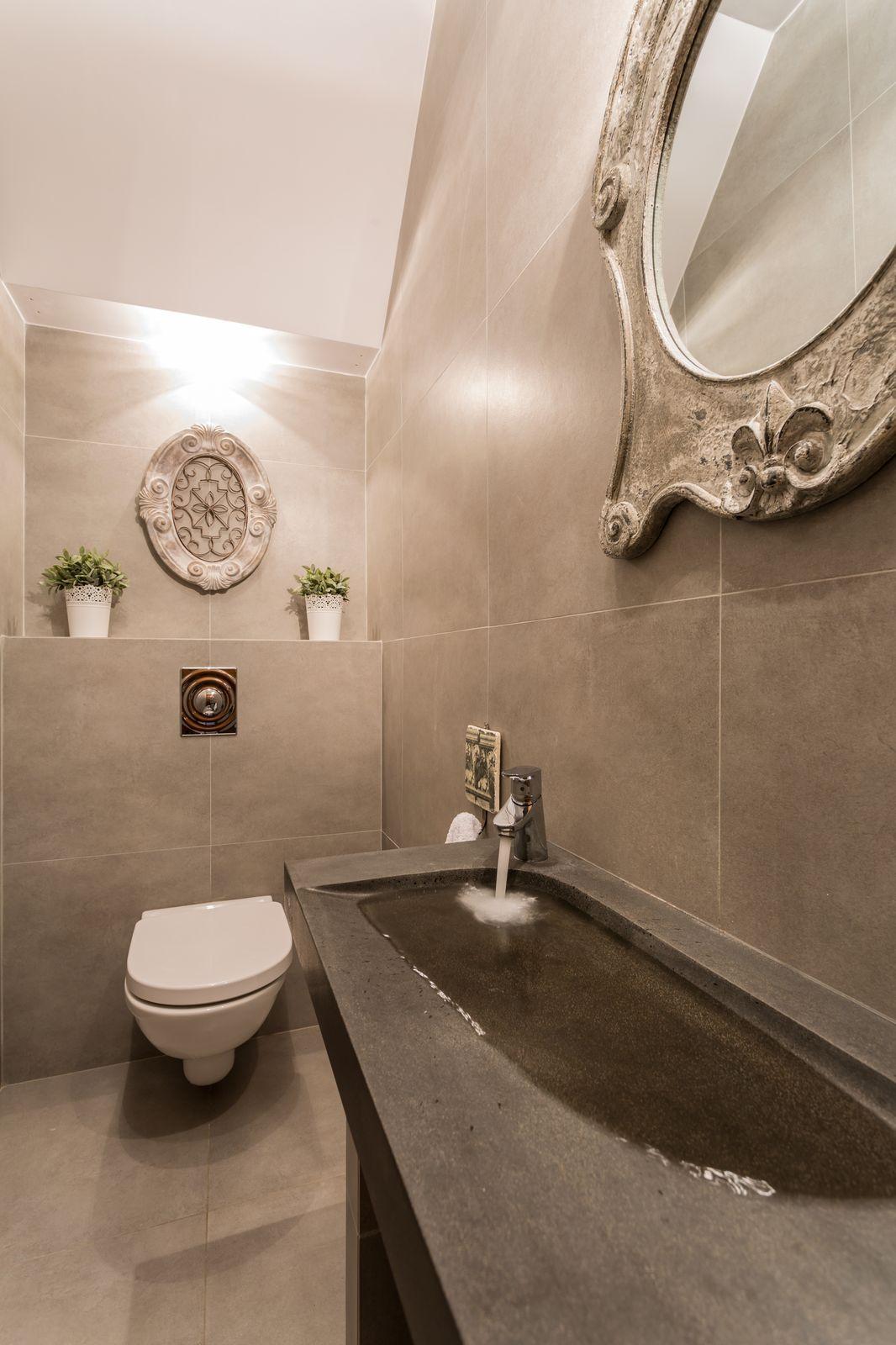 Beautiful bathroom sink with marine edge homeyou