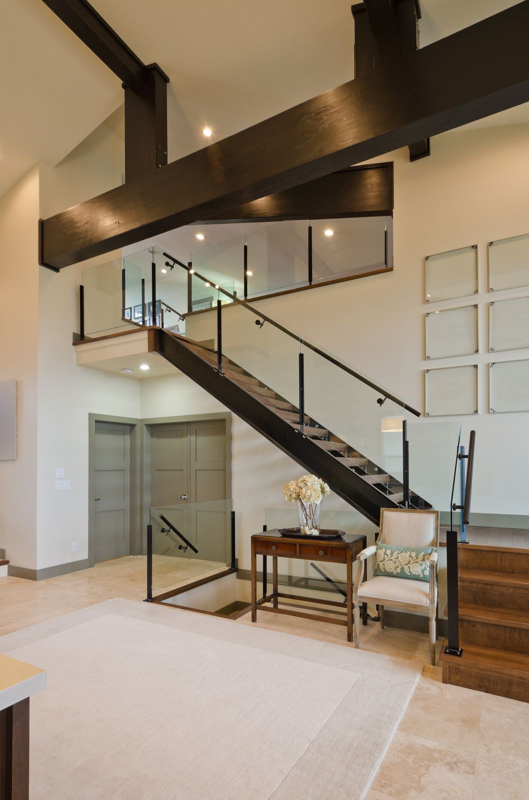 Fantastic Architecture for an Interior Home Staircase