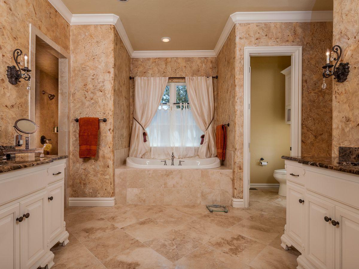 Cork inspired bathroom homeyou for Bathroom designs cork