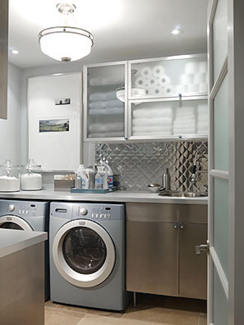 Laundry room energy efficient cost saving tips.