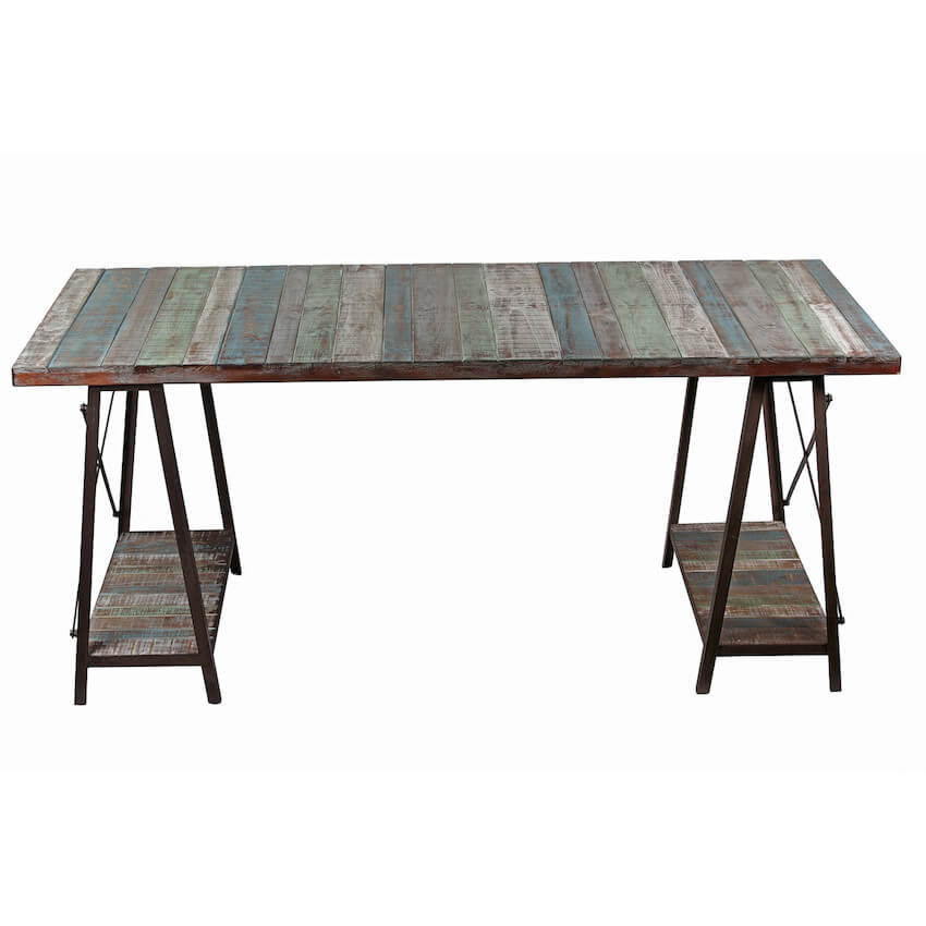 Amazing table options with reclaimed wood