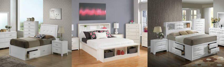 Several bedroom design options