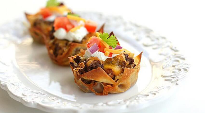 How can you beat a taco cupcake in the kitchen dining room
