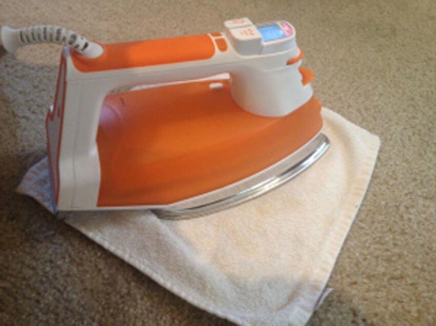 Remove those carpet stains and take the opportunity to start ironing some clothes.