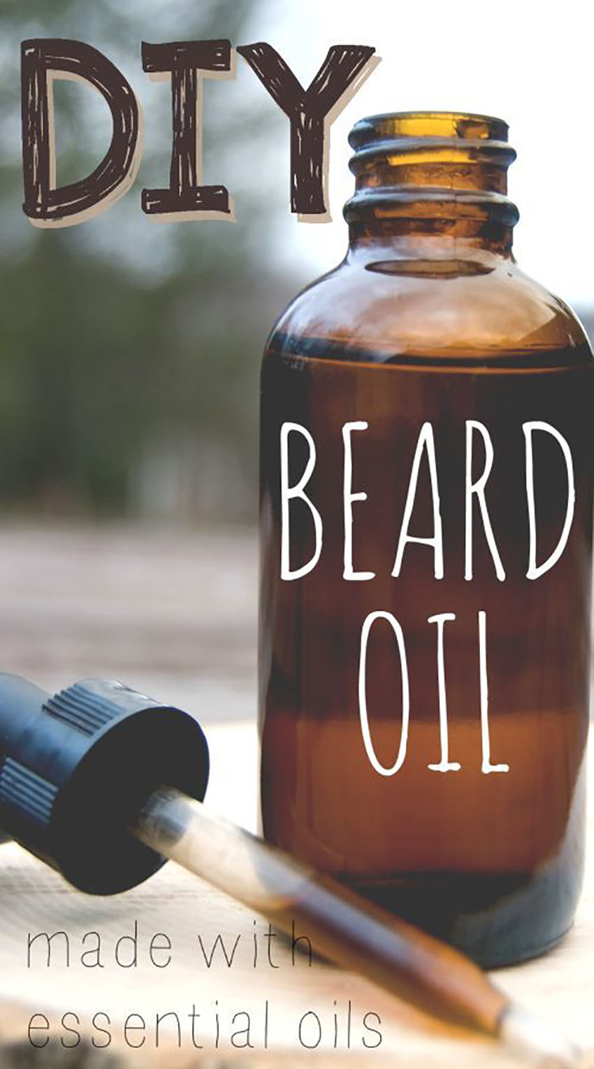 Beard Oil - DIY Gifts Men Want