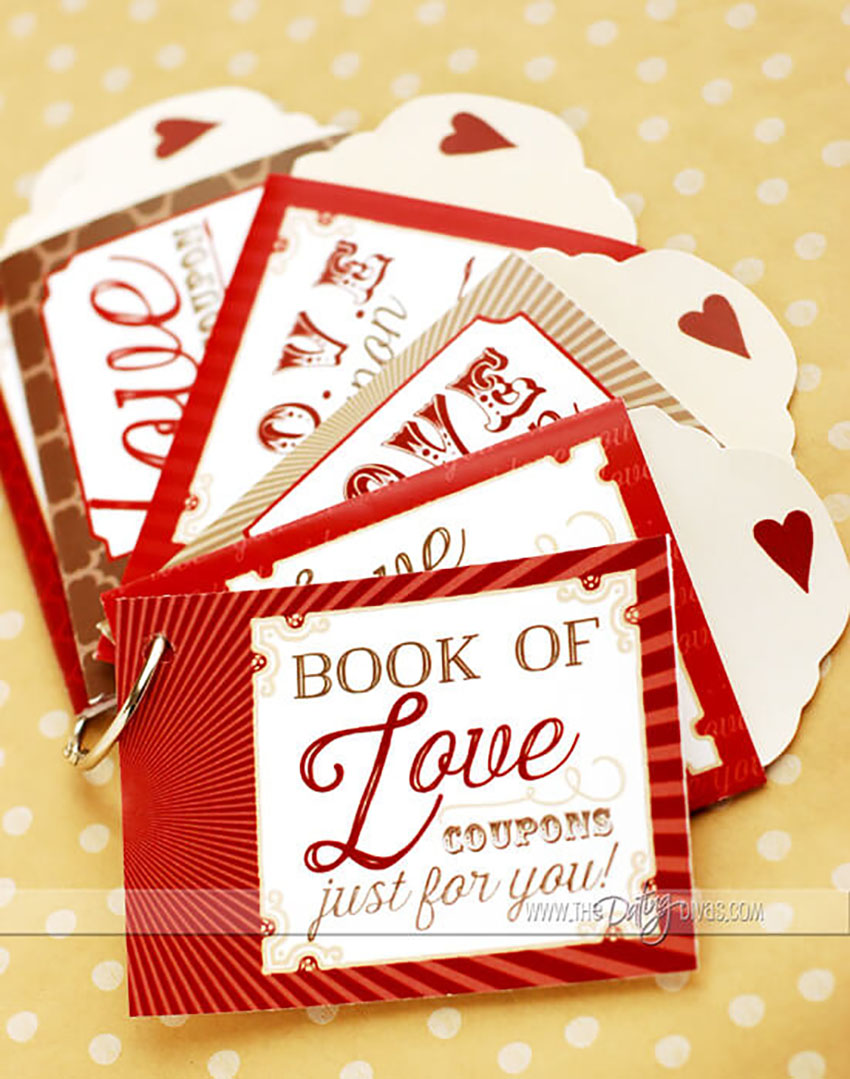 DIY Love Coupons - Gifts Men Want