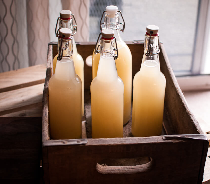 Homemade Ginger Beer - DIY Gifts Men Actually Want