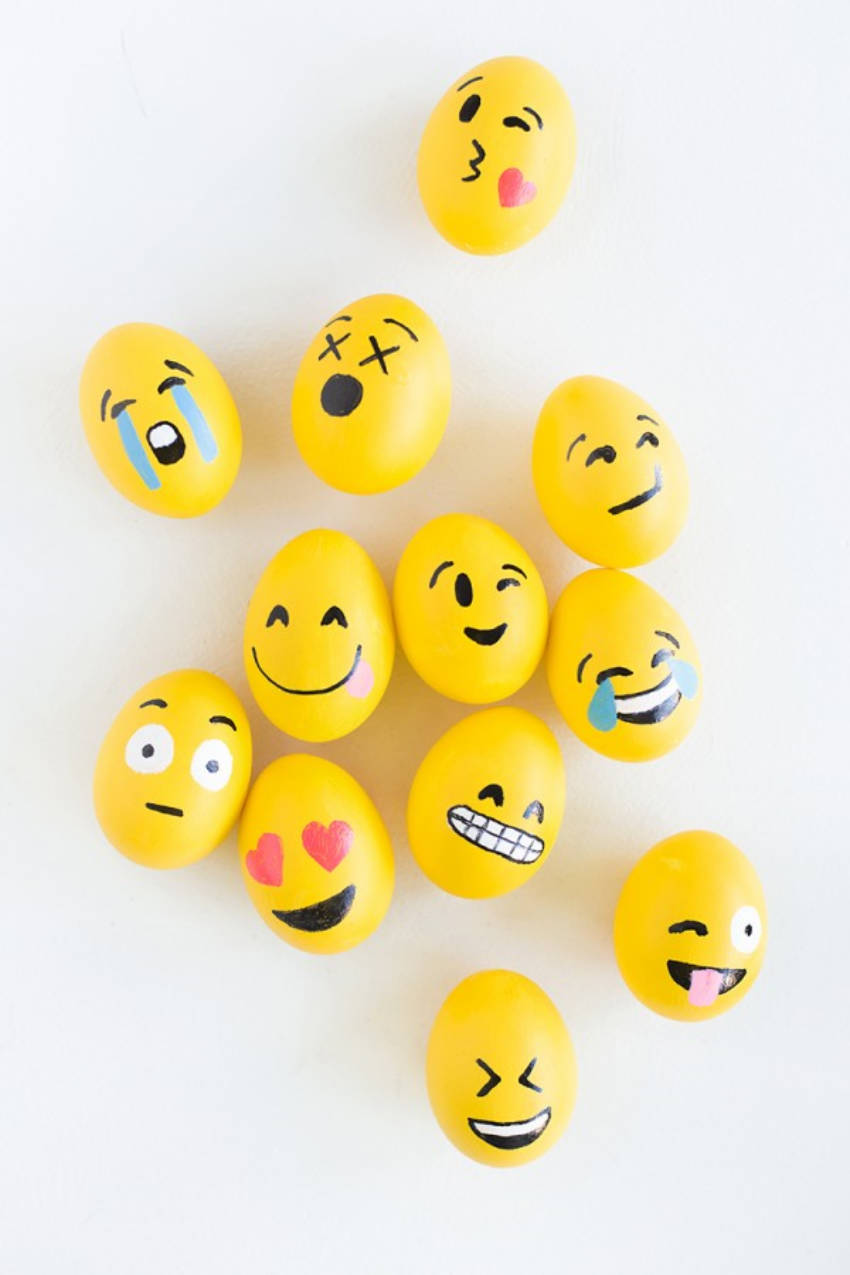 Emoji Eggs are the best!