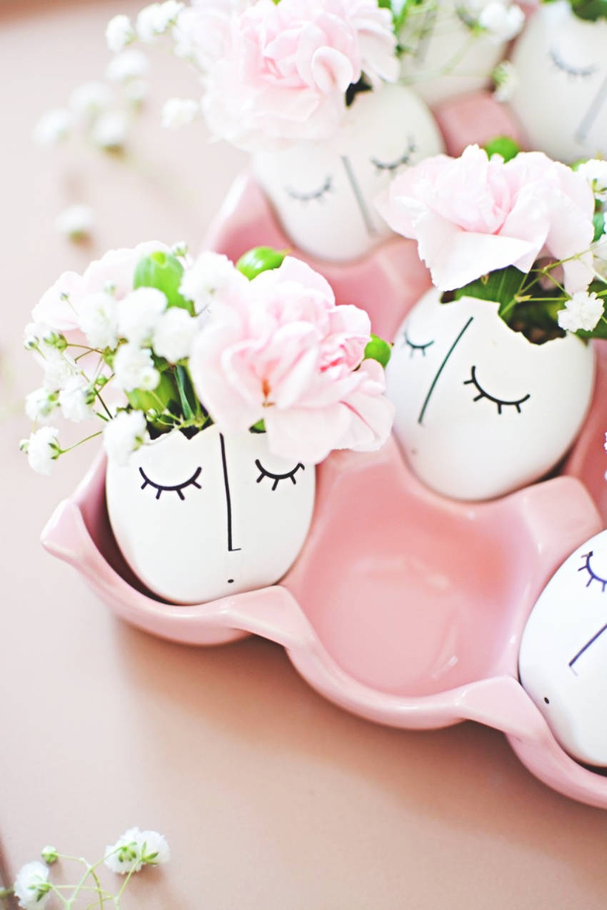 DIY Whimsical Eggs
