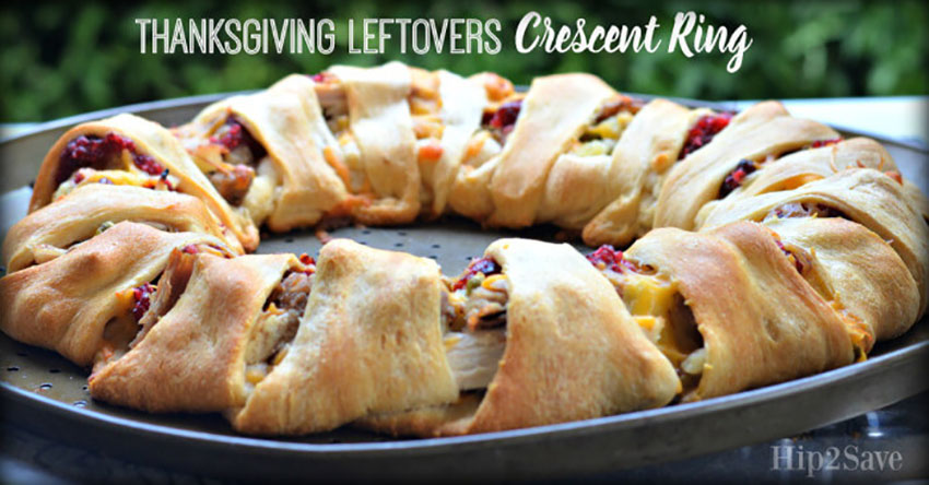 Thanksgiving Leftovers Crescent Ring
