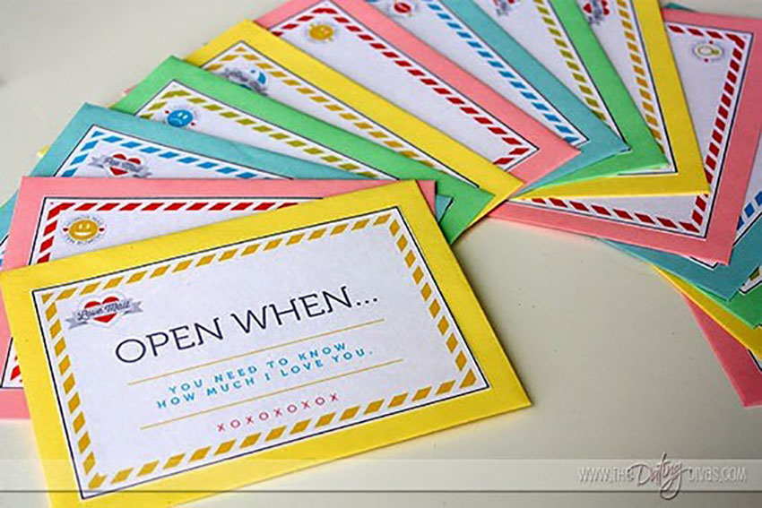 Open When Letters - Christmas Make Yourself