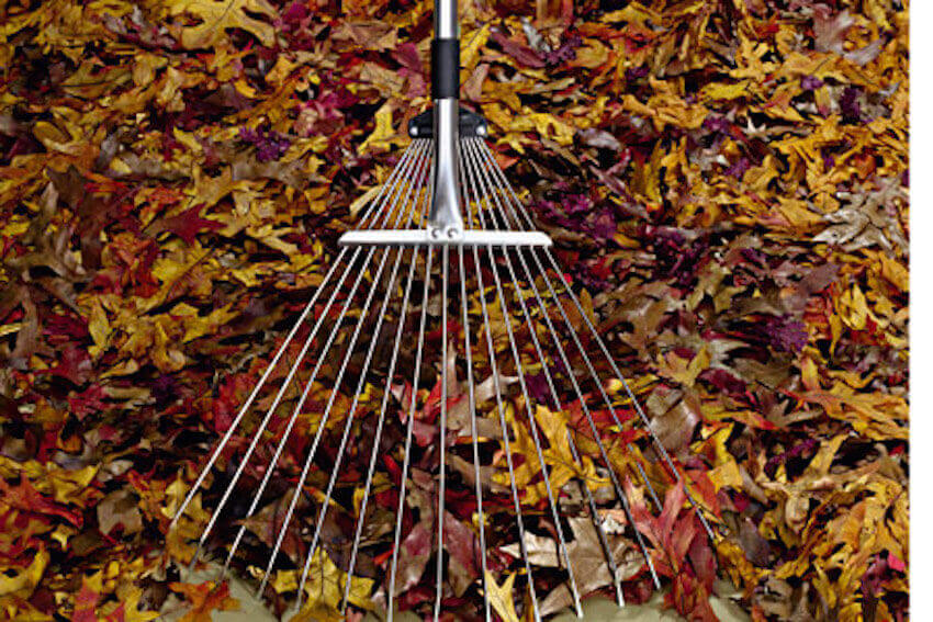 Use the right rake for the job