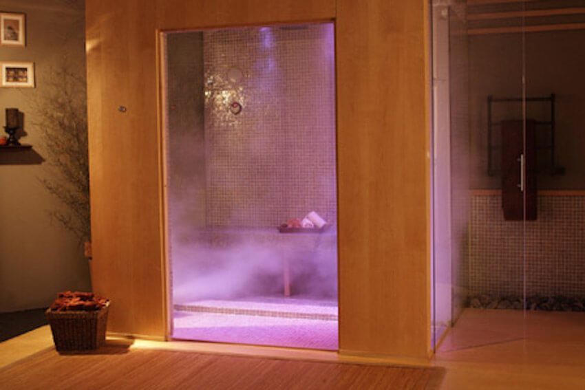 Steam rooms are becoming ever more popular in recent years