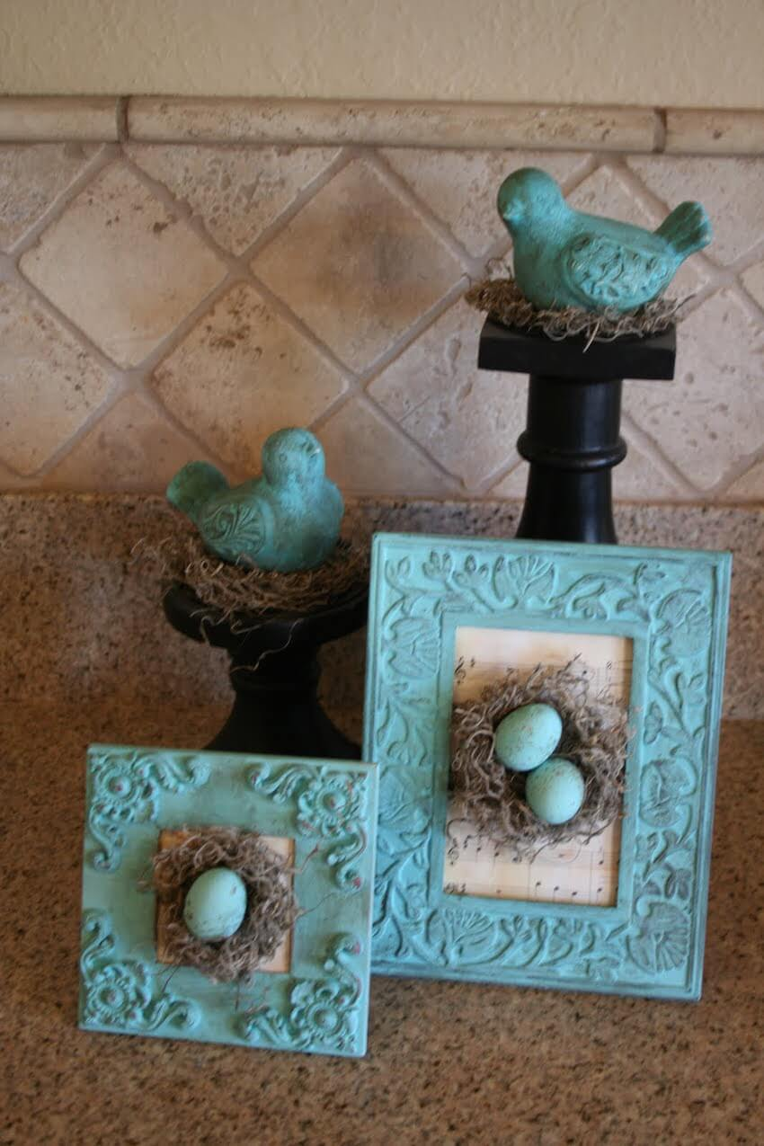 DIY egg decor for springtime fun