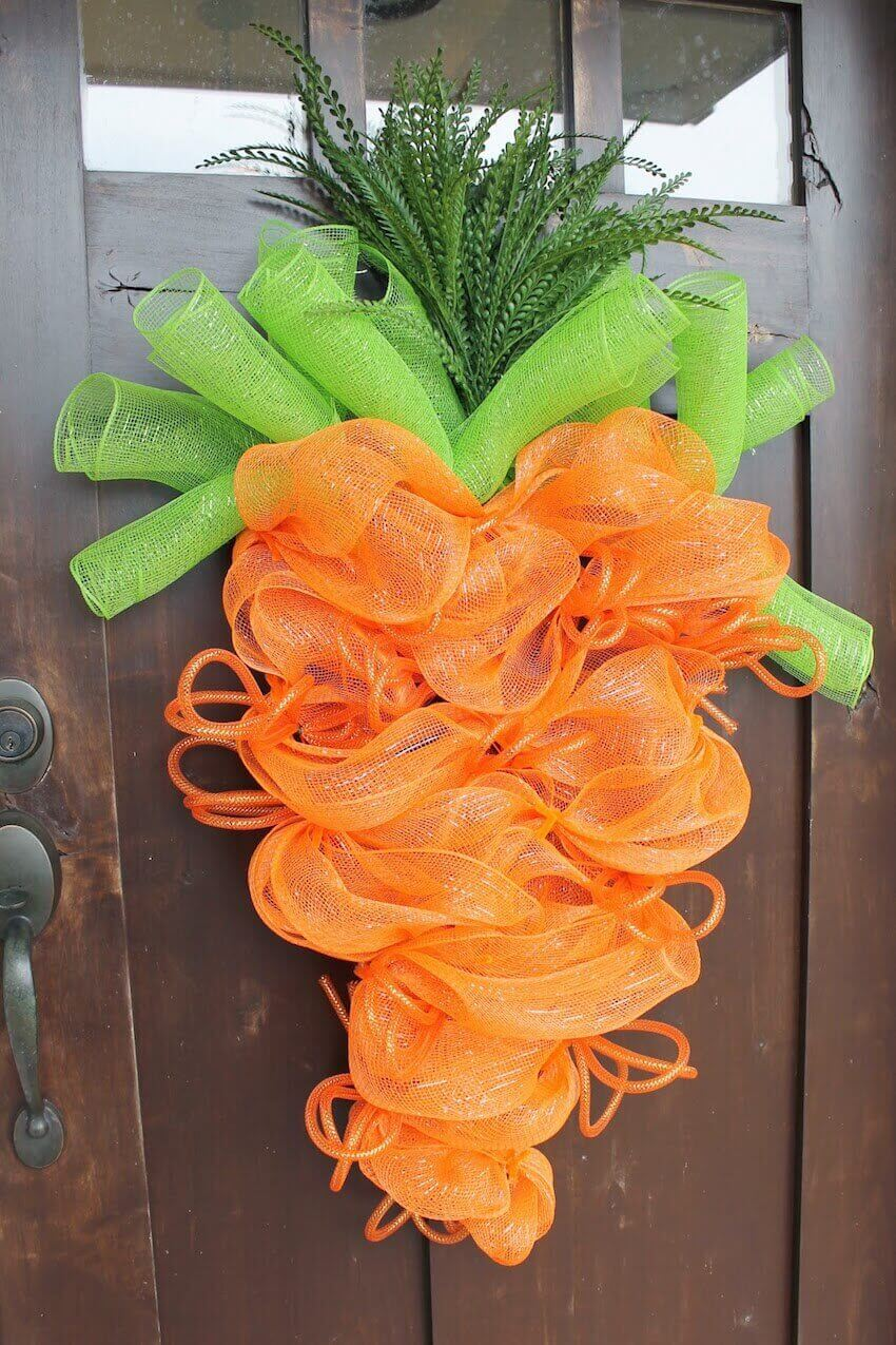 Front door spring decor you can DIY