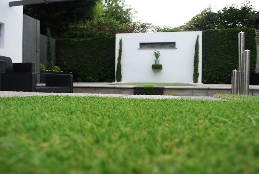 Use astro turf on your fence