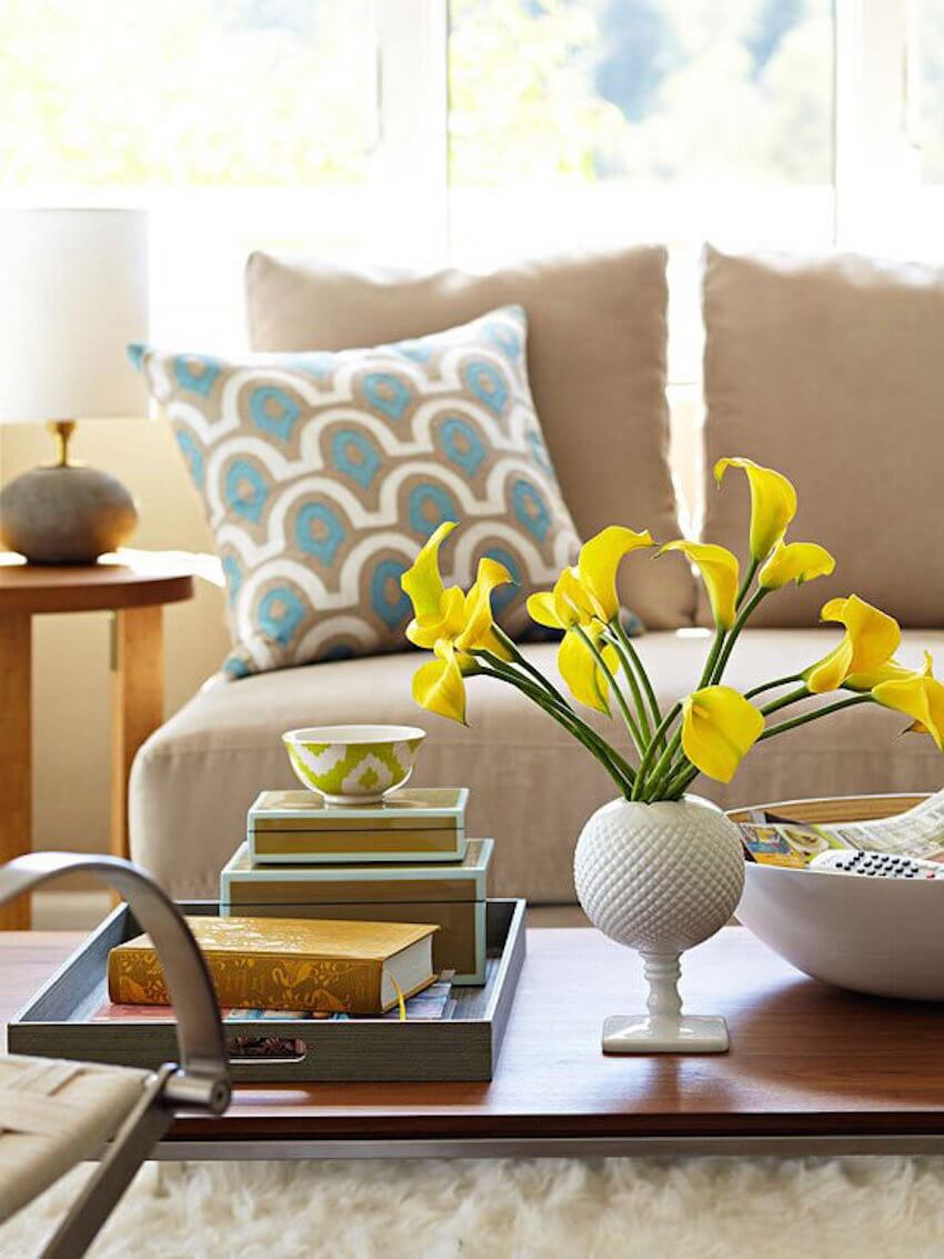 Interior decor tip: Make books useful