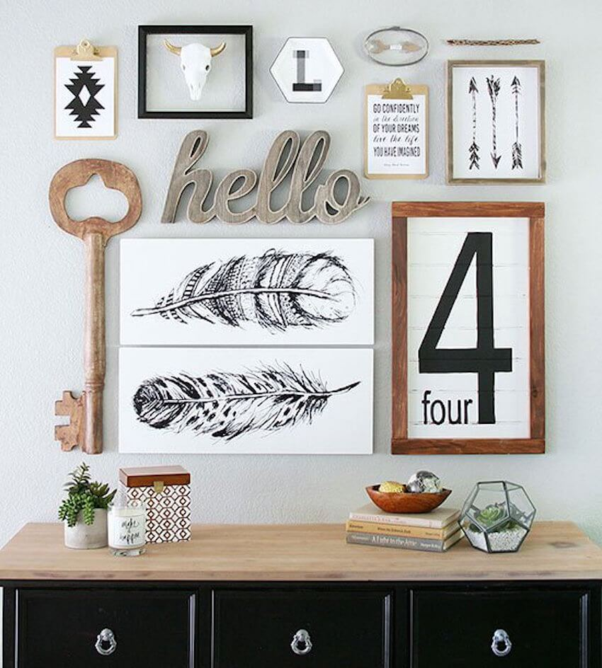Wall artwork and decor