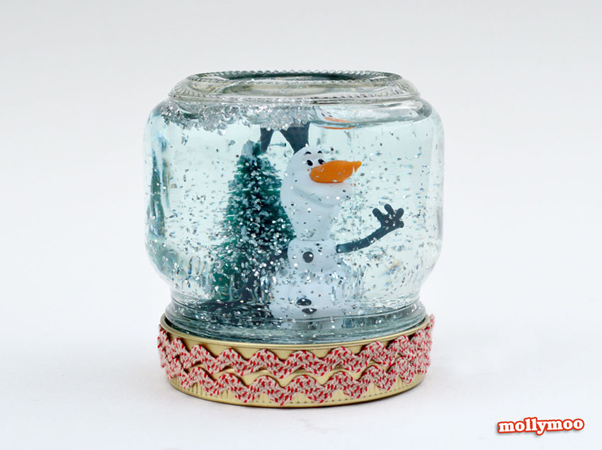Snow Globe Christmas Craft For The Whole Family