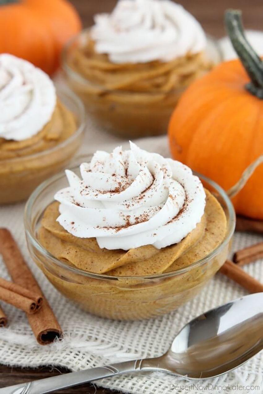 Pumpkin Mousse Thanksgiving