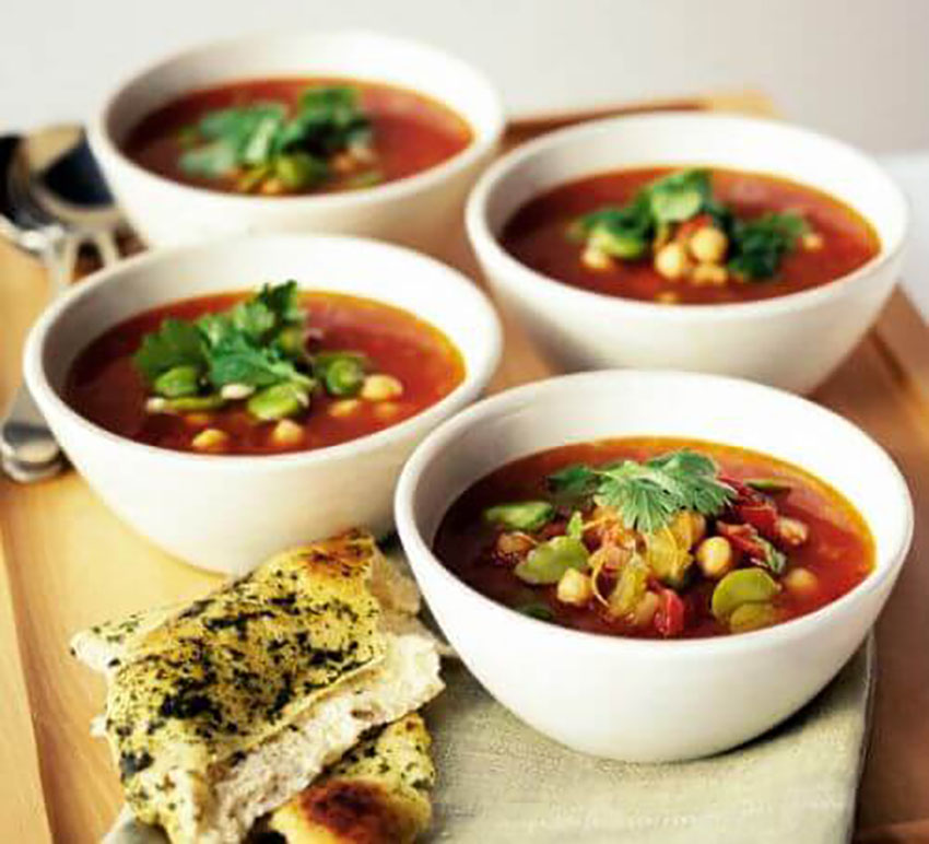 Moroccan Chickpea Soup Thanksgiving