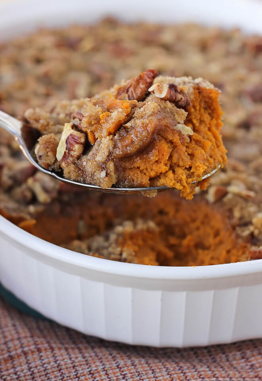 Sweet Potato Casserole Thanksgiving