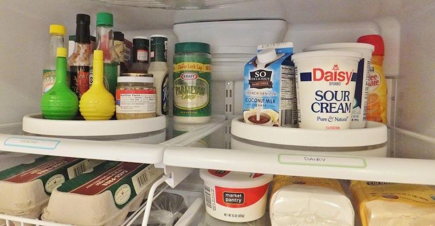 Kitchen refrigerator life hacks for mommy