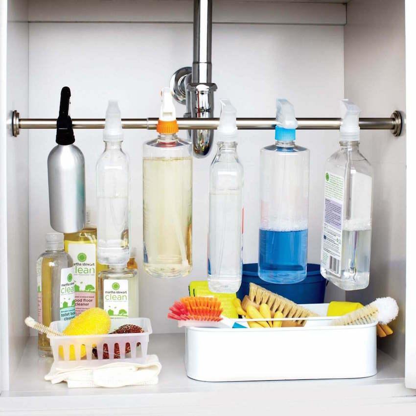DIY bathroom remodeling organization