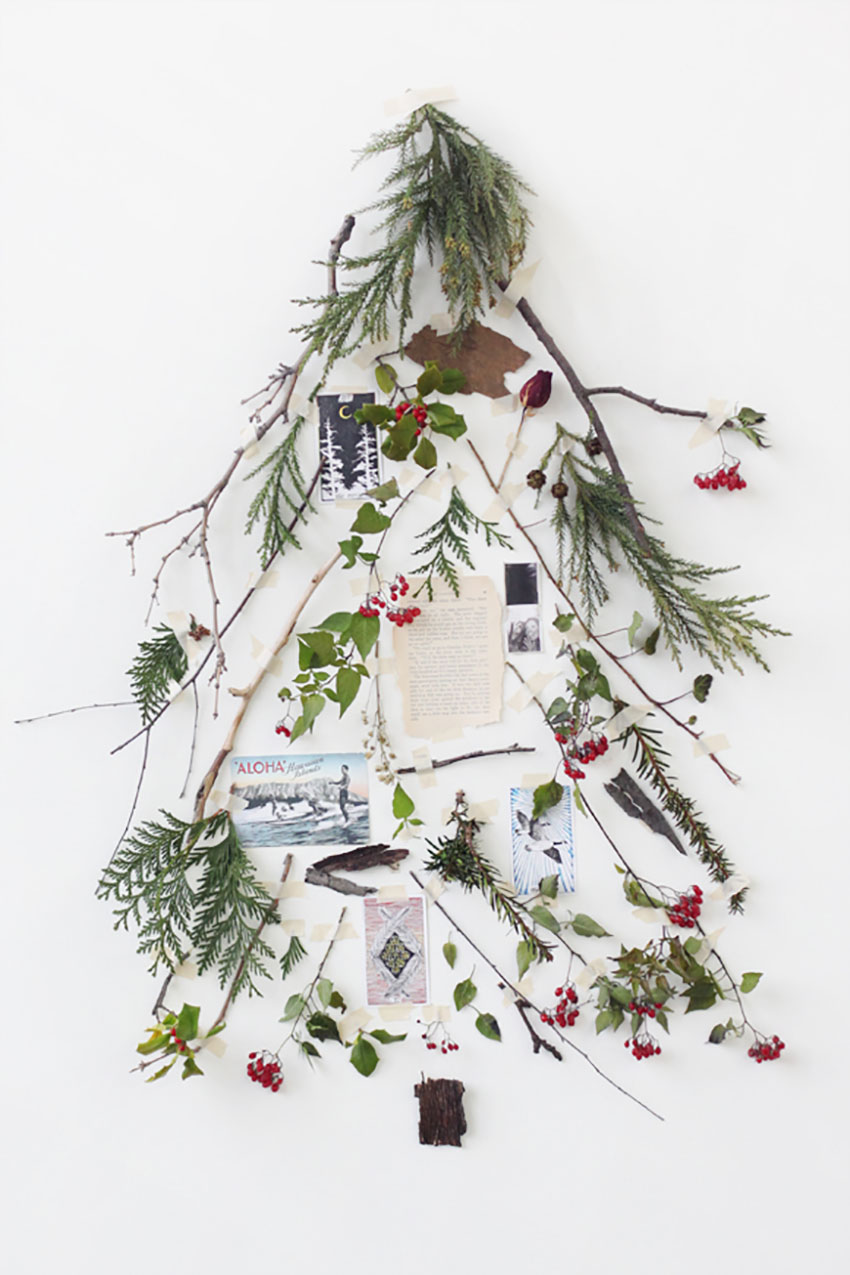 Deconstructed Christmas Tree