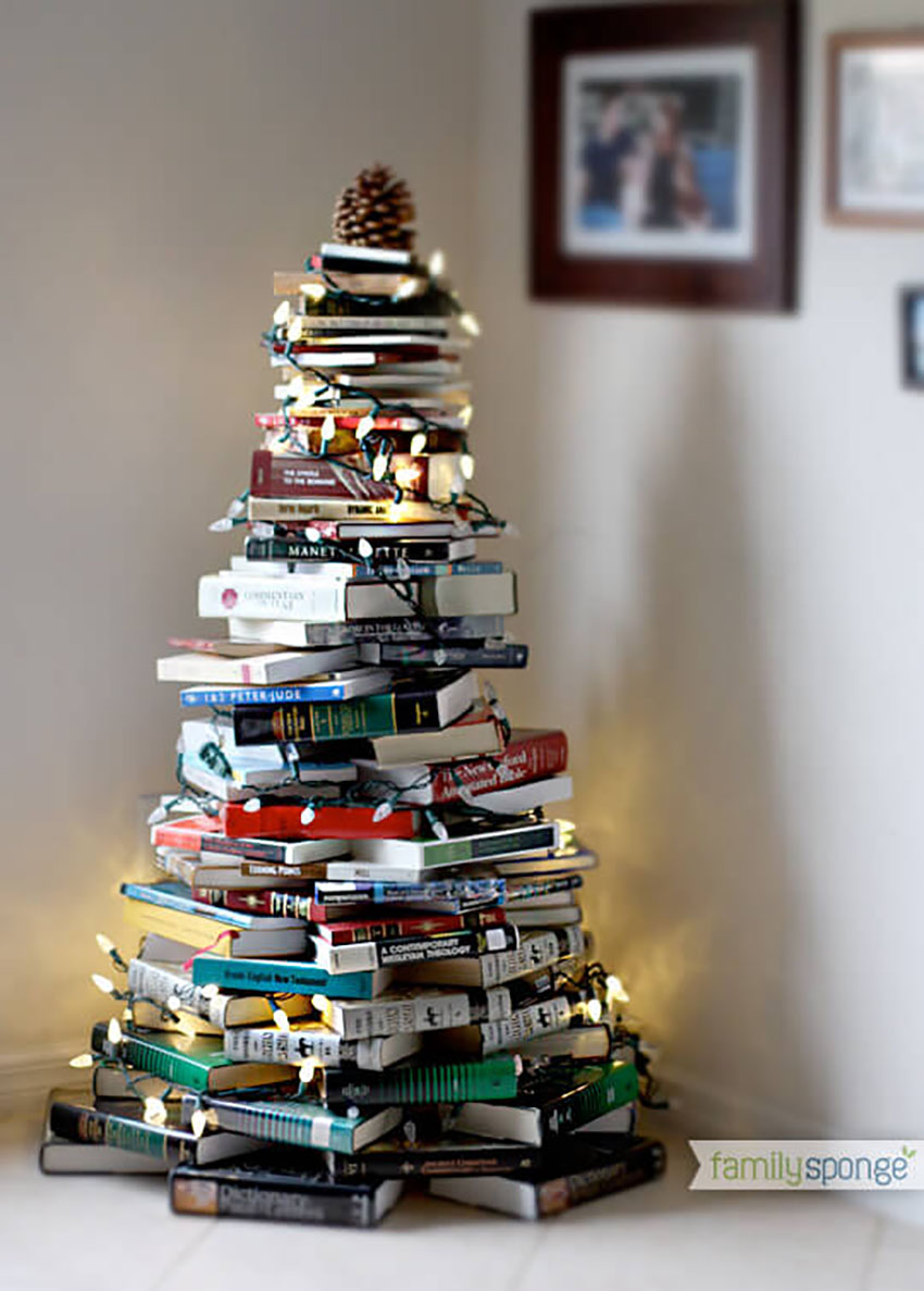 For The Book Lovers - Christmas Trees to Rock This Christmas