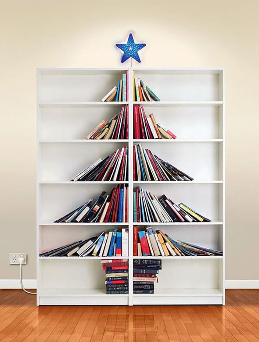 Book Lovers - Christmas Trees