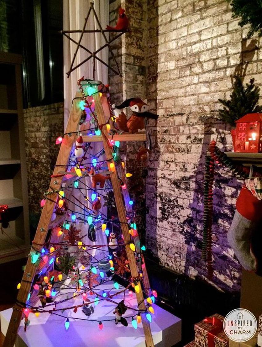Ladder Tree - Christmas Trees