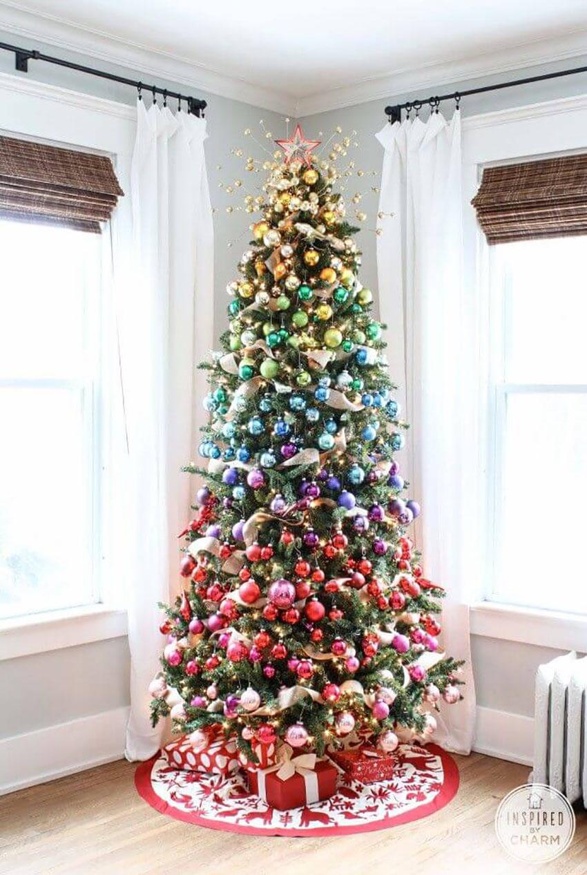 Rainbow Tree - Trees to Rock This Christmas