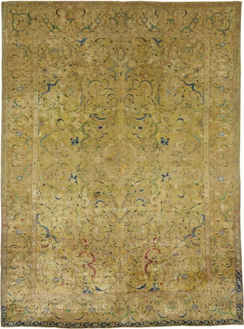 Persian rugs are more expensive because there isn't a Persia anymore
