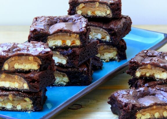 Take Five Candy Bar Brownie