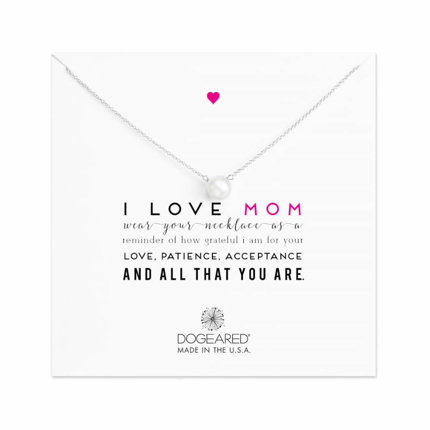 A gold dipped necklace for the best mom ever!