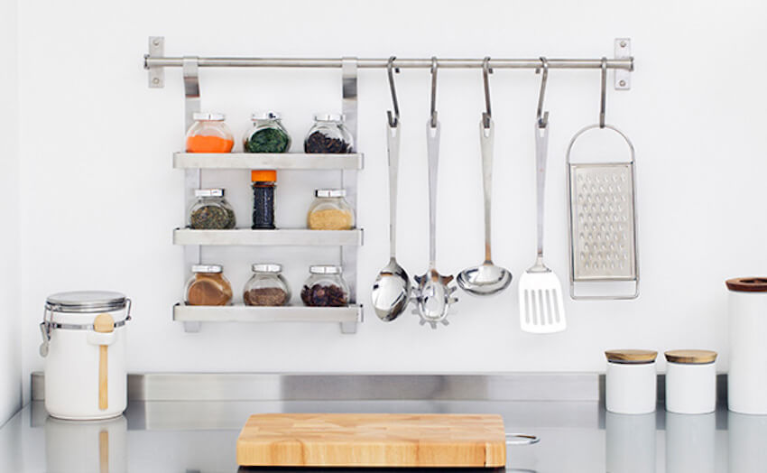 Kitchen organization just in time for dinning