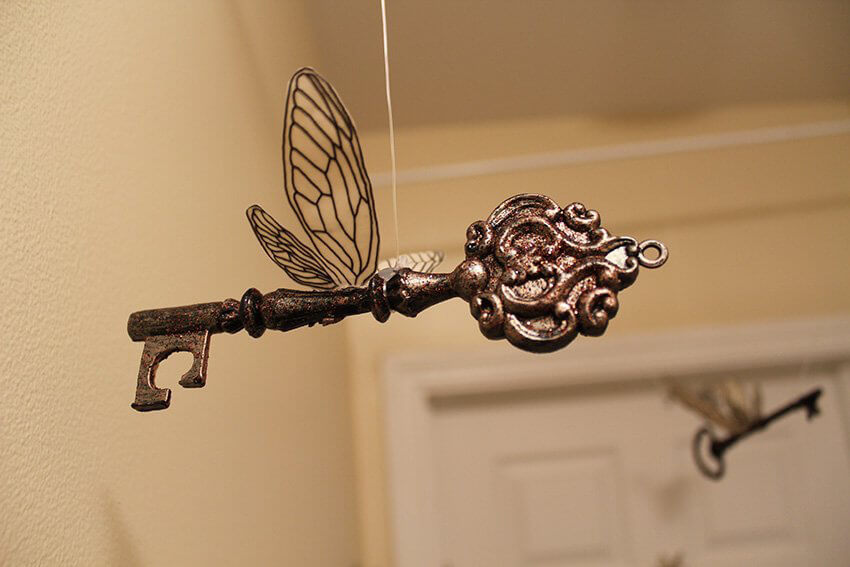 Interior decor: Never lose your keys again! Oh, wait.
