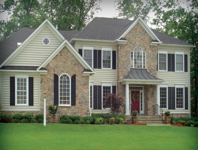 Stone veneer installation will give your home a classic look without a high price.