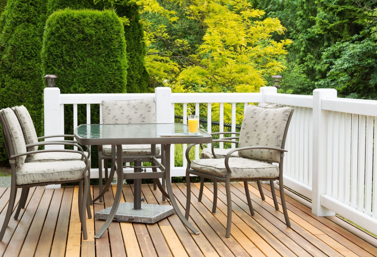 Having a wood deck installed is a smart investment.