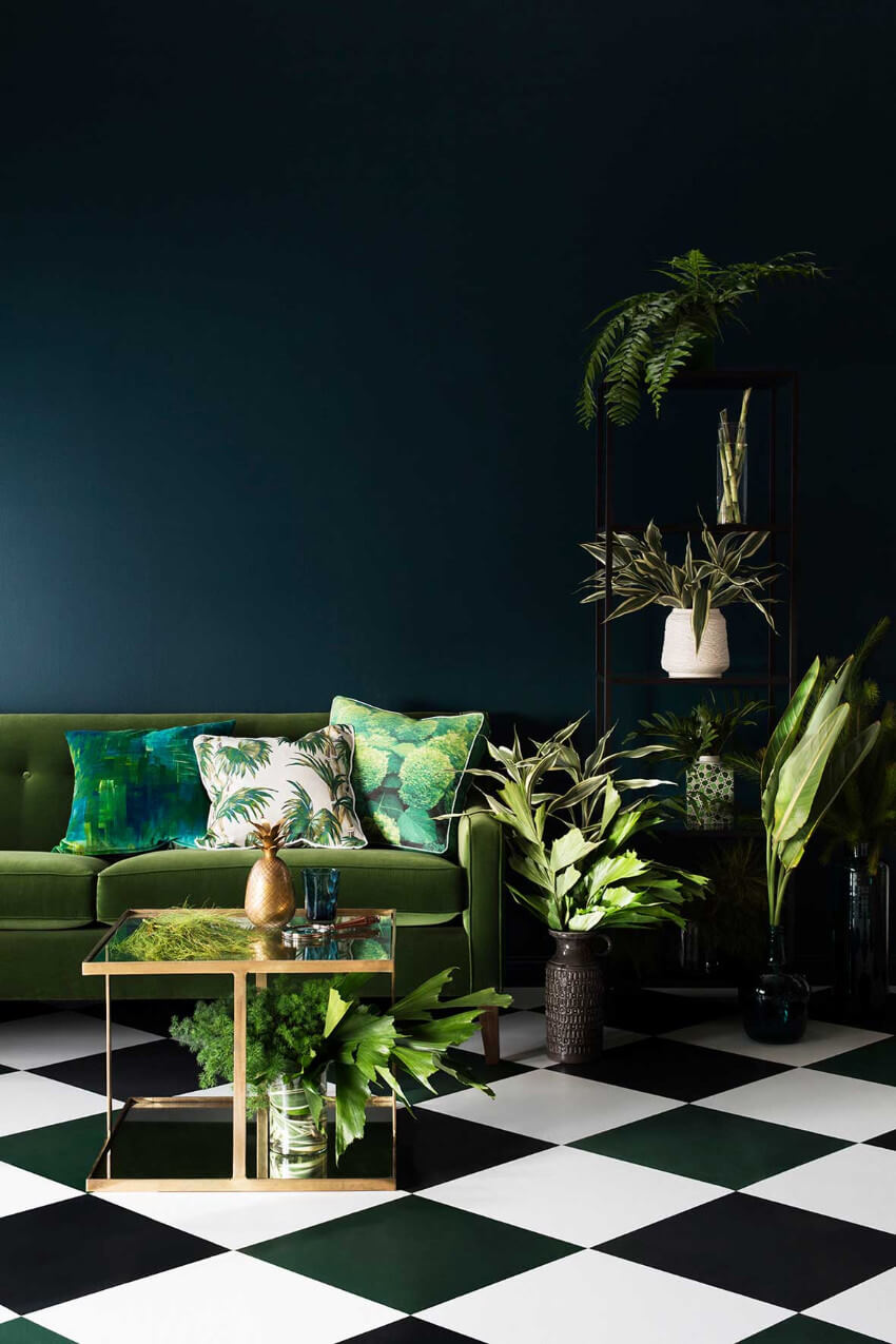 Greenery is always a trend!