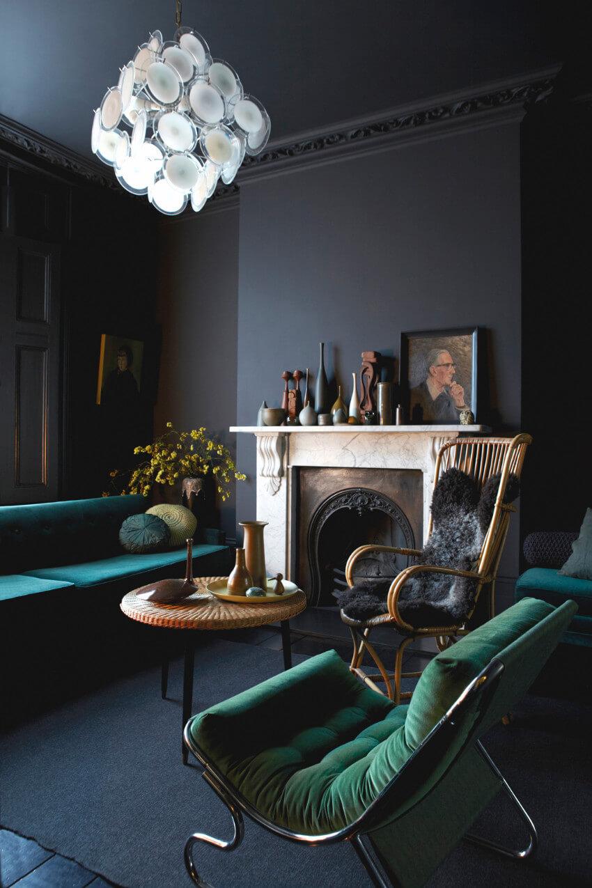 Elegant and cozy.