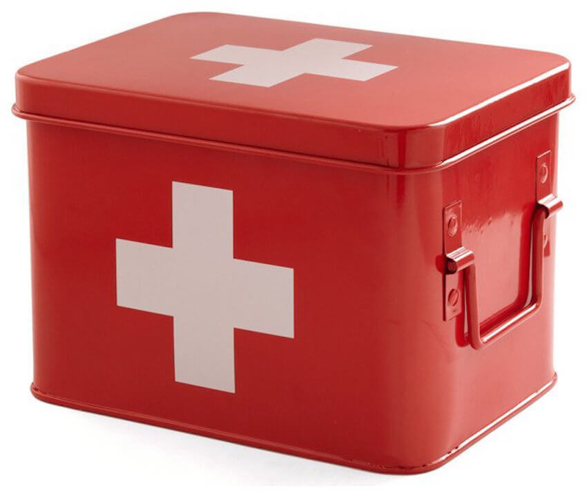 Emergency medical kits are always a good idea to have on hand