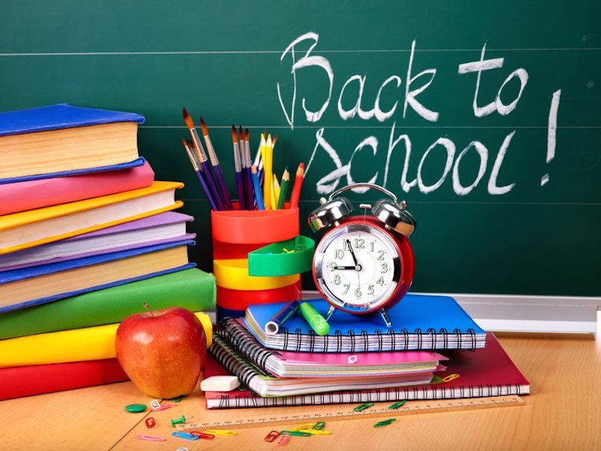 Back to school! Stay organized in your home